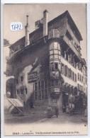 LAUSANNE-- VIEILLE MAISON BERNOISE A LA RUE DU PRE- PUBS AU MUR- VITTEL- - VD Vaud