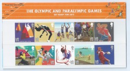 Great Britain 2011 THE OLYMPIC PARALYMPIC GAMES Presentation Pack Stamps (G-16) - Sonstige