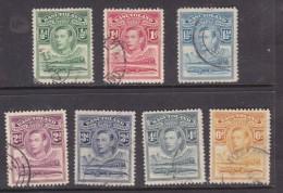 Basutoland: 1938, 1/2d - 6d, George VI,, Used - Basutoland (1933-1966)