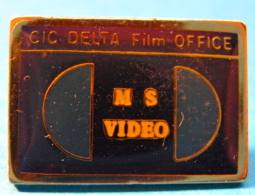 PIN´S M S VIDEO CIC DELTA FILM OFFICE - Photography