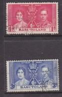 Basutoland: 1937, George V,I Coronation, 1d, 3d,  Used - Basutoland (1933-1966)