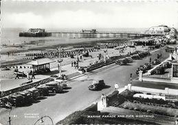 Marine Parade And Pier, Worthing - Copyright Wardell's N° 1151 - Worthing