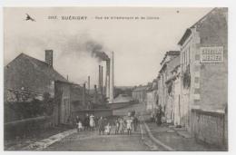58 NIEVRE - GUERIGNY Rue De Villemenant Et Les Usines - Guerigny