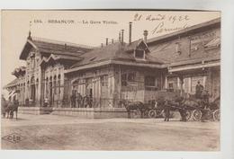 CPSM BESANCON (Doubs) - La Gare Viotte - Besancon