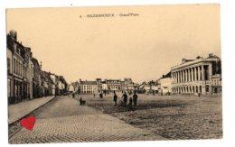 08913-LE-59-HAZEBROUCK-Grand'Place-----------animée - Hazebrouck