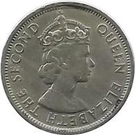 SEYCHELLES  1 RUPEE  1974  Nickel - Seychelles