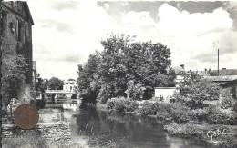 EURE - 27 - PACY SUR EURE - L'Eure Au Moulin Mahau - CPSM PF NB - Pacy-sur-Eure