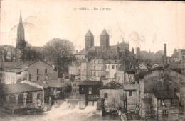 57 METZ LES THERMES CIRCULEE 1919 - Metz