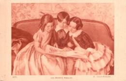 LES ENFANTS MODELES  H. GIRARD RABACHE PAS CIRCULEE - Peintures & Tableaux