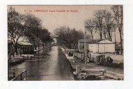 Aot16    75908  Zaragoza   Canal Impérial De Aragon - Spain