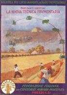 "06106 ""PROF. DANTE GIBERTINI - LA NUOVA TECNICA FRUMENTARIA - FED. IT. DEI CONS. AGRARI PIACENZA- 1930 VIII"" ORIGINALE - Autres"