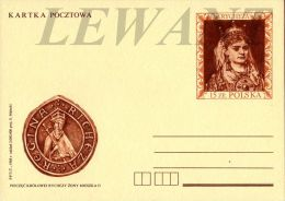 W POLAND - 1988.10.19. Cp 986 Kings And Princes Polish - Rycheza - Interi Postali