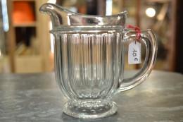 Petit Pot à Lait En Verre, Déco De Table Bar Bistrot Art De La Table, Carafe Pour Un Verre Ricard Pastis Absynthe - Autres