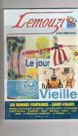 19- 23-87- LEMOUZI - N° 154 - AN 2000- DELPASTRE PESTOUR-TULLE-SAINT VIANCE-LA TREMOUILLE-NAVES-QUEYSSAC-BRIVE-ST JUNIEN - Limousin