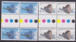 AAT 1979 50th Ann. First Flight Over Southpole 2v 2x Gutter ** Mnh (31467) - Australian Antarctic Territory (AAT)