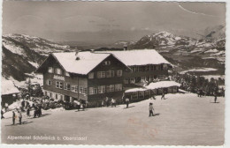 CPSM:   OBERSTDORF  (bavière) (allemagne):   Alpenhotel Schönblick En 1959. (photo Véritable).   (A+ 4506) - Oberstdorf