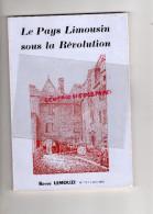 19- 23-87- LEMOUZI - N° 111- PAYS LIMOUSIN SOUS LA REVOLUTION-ST BONNET RIVIERE-MEYSSAC-NONARDS-SEGUR-CHAMBOULIVE-BRIVE- - Limousin