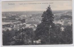 AUSTRIA POSTCARDS SALZBURG AUSSICHT VON DER HUMBOLDTERRASSE AUF DEN RECHTSSEITIGEN STADTTEIL 17.7.1907 - Unclassified