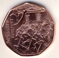 """5 Euro 5€ - Münze Kupfer Aus 2016 (Ausgabe 2.12.2015) """"Neujahrskonzert"""" UNC - Autriche"""