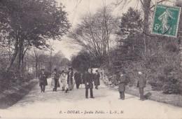 Douai Jardin Public (animée) - Douai