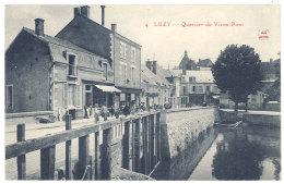 Cpa Luzy - Quartier Du Vieux-Pont - Autres Communes