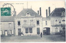 Cpa Cluis - Bureau De Poste - France