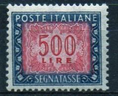 PIA - ITA - 1964 : SPECIALIZZAZIONE : Segnatasse  £ 500  - (SAS 120  CAR  46/I) - 1946-.. Republiek