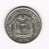 °°° ECUADOR  UN SUCRE  1978 - Ecuador