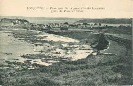 29 LOCQUIREC - PANORAMA DE LA PRESQU ILE DE LOCQUIREC - GREVE DE PORS AR VILIEC - Locquirec