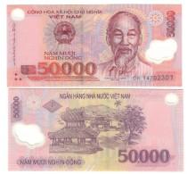 Vietnam Viet Nam 50000 Dong Plimer Q.fds/fds ( In Box ) - Vietnam