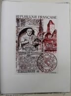 2ème Maquette Pour Le N° 2554 : Bi-millénaire De Strasbourg, Graveur Eugène Lacaque. - Curiosities: 1980-89 Mint/hinged