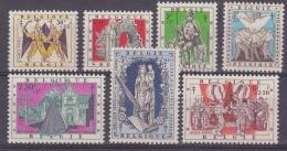 Belgier 1957 Antitering / Legenden 7w ** Mnh (31485) - Unused Stamps