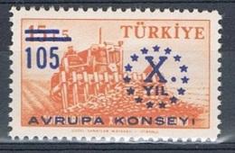 Conseil De L'Europe 1959  Neuf Turquie - Autres - Europe