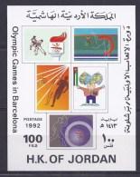 BF 52  OLYMPIQUE GAMES IN BARCELONA 1992 - Jordanie