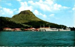 Cpsm Polynésie - ILES SOUS LE VENT - Port D' UTUROA ( Raiatea ) - Polynésie Française
