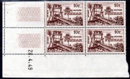 FEZZAN - YT N° 48 Bloc De 4 Coin Daté - Neufs ** - MNH - Cote: 26,40 € - Fezzan (1943-1951)