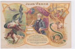 Publicité - Jules Verne - Romancier 1828-1904 - Publicité