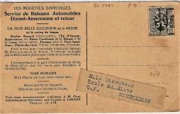 Dinant 1929 - Rollo De Sellos 1920-29