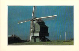 MOULINS A VENT - FRANCE - Windmill Windmühle Windmollen - WORMHOUT - Le Moulin DESCHODT - CPM GF Nord - Mulini A Vento