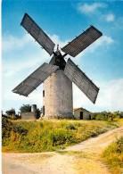 MOULINS A VENT - FRANCE - Windmill Windmühle Windmollen - Moulin Jean BIRON ( Vendée ) - CPSM CPM GF - - Moulins à Vent