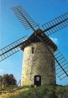 MOULINS A VENT - FRANCE - Windmill Windmühle Windmollen - Le Moulin à Vent D'HAUVILLE ( Eure) - CPSM CPM GF - - Moulins à Vent
