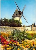 MOULINS A VENT - FRANCE - Windmill Windmühle Windmollen - Moulin à La Thébaudière ( NOIRMOUTIER Vendée ) CPSM CPM GF - - Moulins à Vent