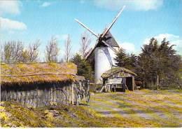 MOULIN A VENT - FRANCE - Windmill Windmühle Windmollen - Petit Lot (3/4) De 5 CPSM CPM GF ... Divers Moulins ... - Moulins à Vent