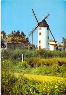 MOULIN A VENT - FRANCE - Windmill Windmühle Windmollen - Petit Lot (4/4) De 5 CPSM CPM GF ... Divers Moulins ... - Moulins à Vent