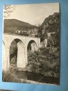 5636- France Autorail Pour Ste-Cécile D'Andorge Sur Le Viaduc.....(Format 10 X 15) Photo Granguillame Edition BVA - Trains