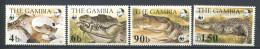 171 GAMBIE 1984 - Yvert 510/13 - WWF Reptile Crocodile - Neuf ** (MNH) Sans Trace De Charniere - Gambie (1965-...)