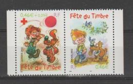 FRANCE / 2002 / Y&T N° 3467a/3468 ** Ou P3467A** : Fête Du Timbre (Boule & Bill) Paire Carnet - Gomme D'origine Intacte - France