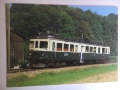 5646 - Suisse Vereinigte Huttwil-Bahnen  Automotrice électrique  BDe ç/ç I 245 (Format 10 X 15) - Trains