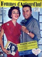 Femmes D'aujourd'hui N° 693 Du 14/08/1958 - Chandail - Andre Claveau - Claude Jauniere - Le Debut D'un Roman Inedit. - Mode