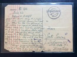 CROATIA  NDH   WWII.  1943.   FELDPOST  NR. 56925E